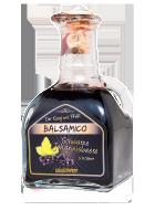 Balsamico Schwarze Johannisbeere  5 % (250 ml Glasflasche)