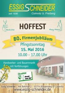 essigschneider_FlyerA5_Hoffest