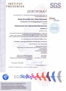 GLK-Zertifikat 2021